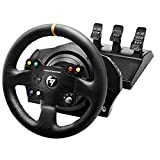 Thrustmaster TX Racing Wheel Leather Edition, Volante y Pedales, Xbox Series X|S,...