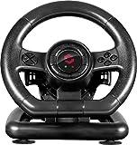 SpeedLink - Volante De Carreras SL650300BK, Color Negro (PC)